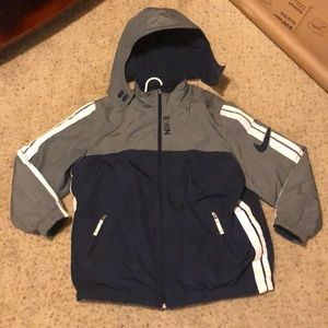 Nike Winter Coat W/ Removable Hood Size Small